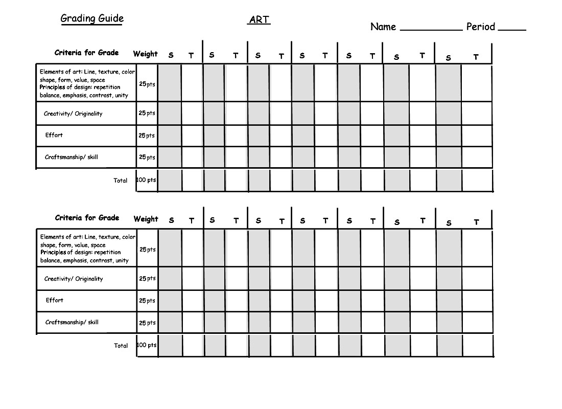 Line Art Rubric Grade : Related top wallpapers printable teacher grading scale chart