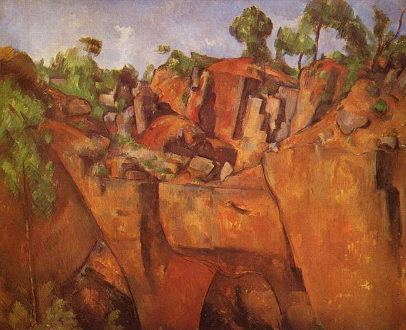 Paul Cezanne Abstraction