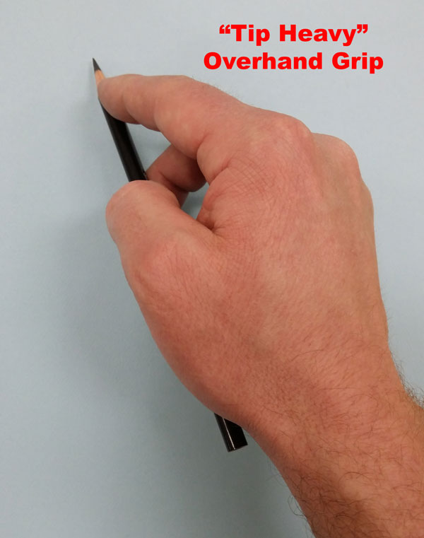 Top Heavy Pencil Grip
