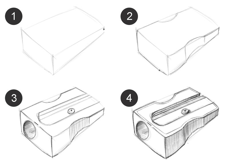 Scribble Drawing Objects : Improve your drawing skills in days