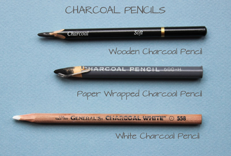 Types of Charcoal Pencils
