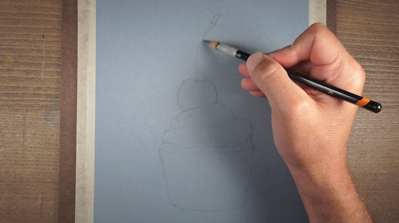 Drawing the contour lines