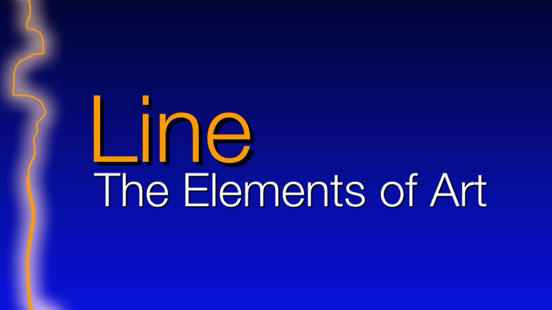 The element of art - line