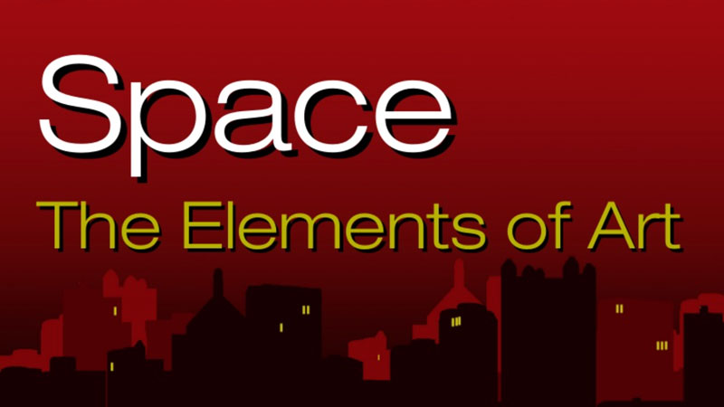 Elements Of Art Space Definition : The elements of art