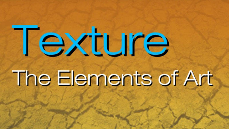 The element of art - texture