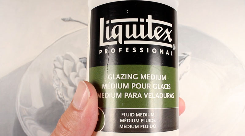 Fluid glazing medium