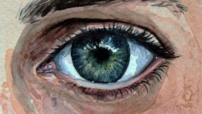 How to Paint an Eye with Watercolor