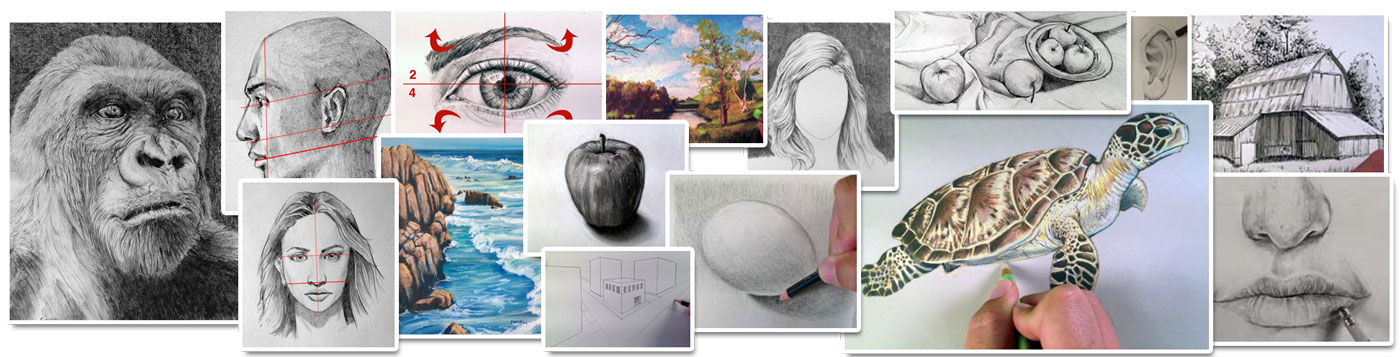 Drawing Course Examples