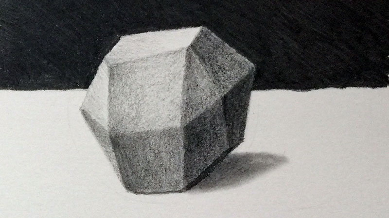 Irregular form drawing