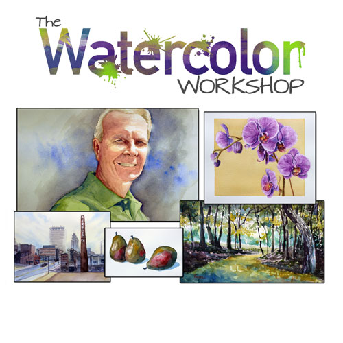 Watercolor painting course
