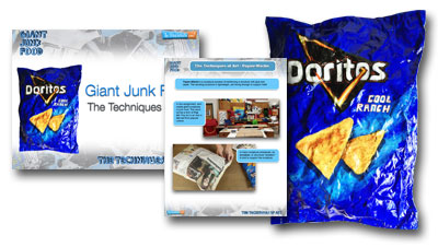 Ultimate Lesson Plan - 3D Giant Junk Food