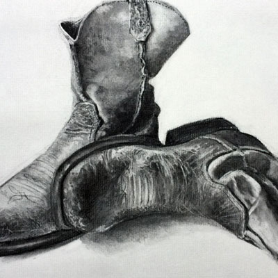 Charcoal Boots