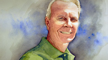 Watercolor portrait lesson part 1
