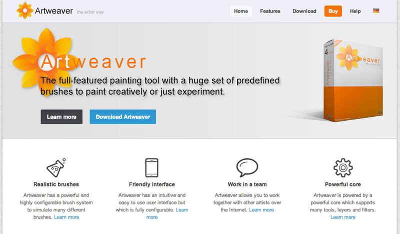 ArtWeaver Drawing Software