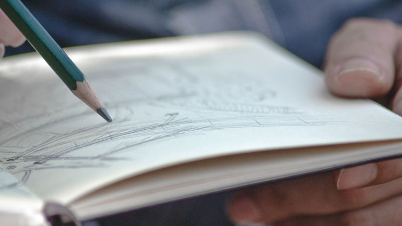 Easy drawing ideas for your sketchbook