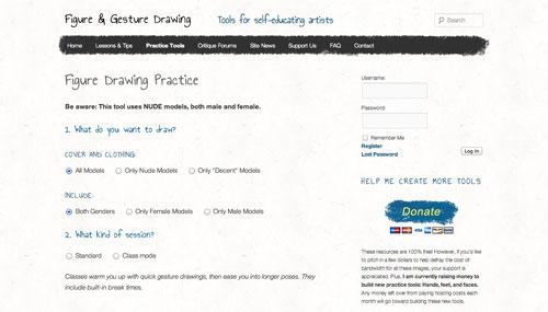 Gesture Drawing Tool