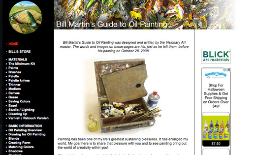 Bill Martin's Guide to Oil Painting
