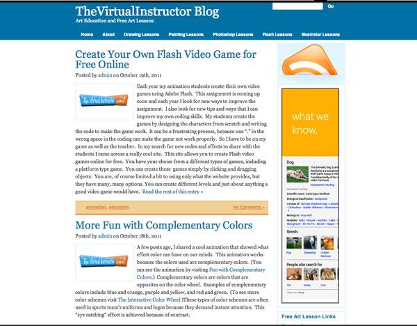 TheVirtualInstructor.com Blog 2010