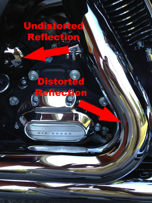 Reflective Metal - Distortion
