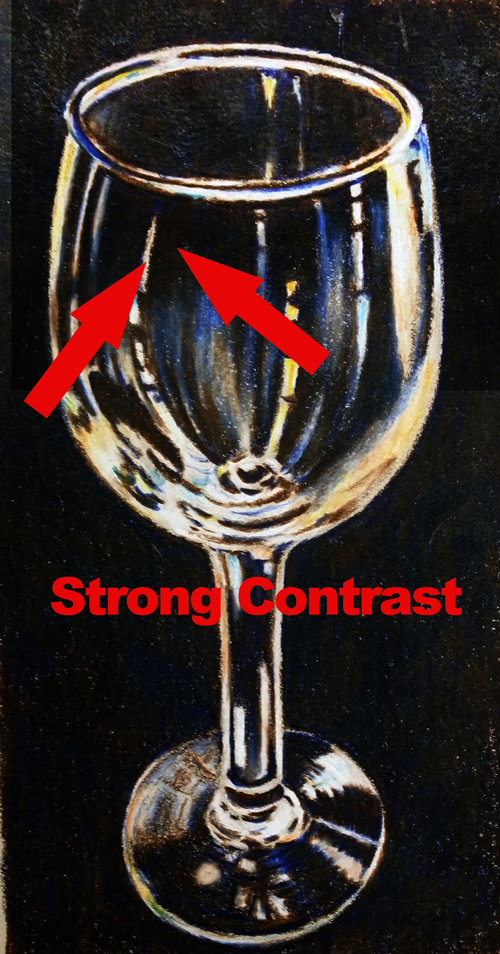 Strong Contrast - Glass