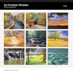Portfolio Website with Grid