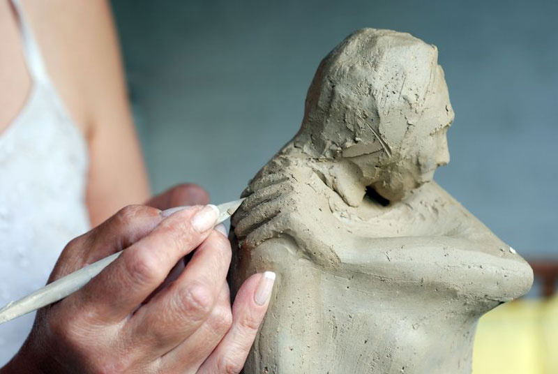 Create a Sculpture To Improve Drawing Skills
