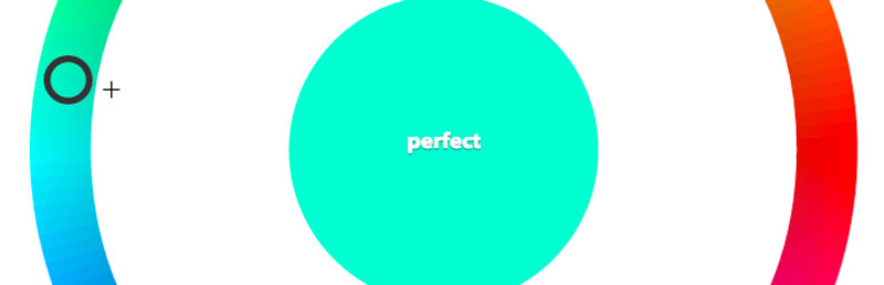 Perfect score in color game