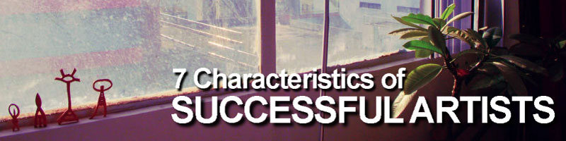 Characteristics of successful artists