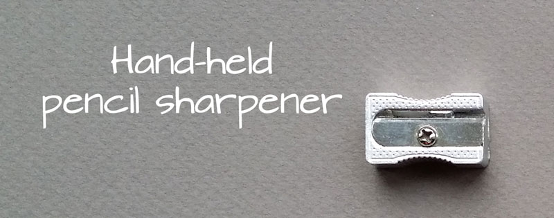 Hand Held Pencil Sharpener