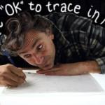 Is it ok to trace in art