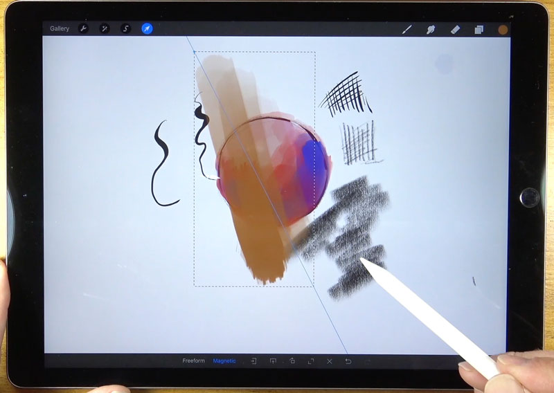 Transforming with Procreate