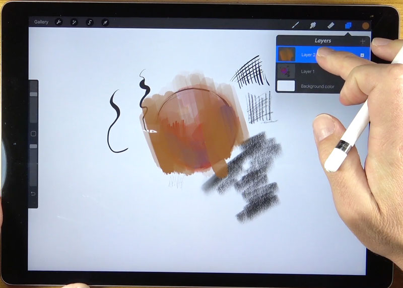 Working with Layers in Procreate
