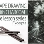 Charcoal Landscape Drawing - Excerpts