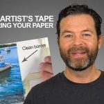 Prevent Artist's Tape From Tearing Your Paper