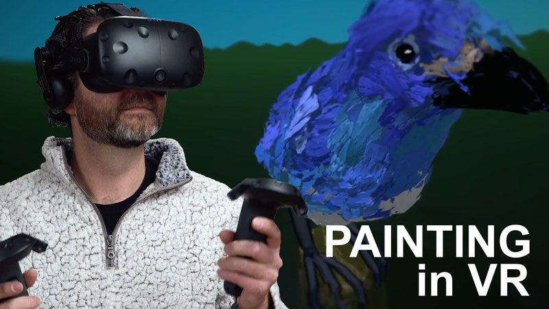 Painting in Virtual Reality