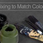 Mix Paint to Match Colors