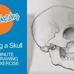 Sketching a Skull - 30 Minute Drawing Exercise