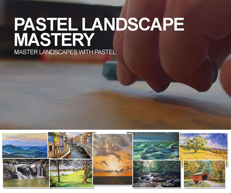 Pastel Landscape Mastery Course