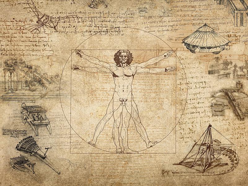 Human Proportions da Vinci