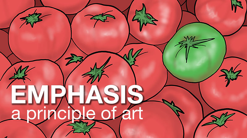 Emphasis - Principle of Art