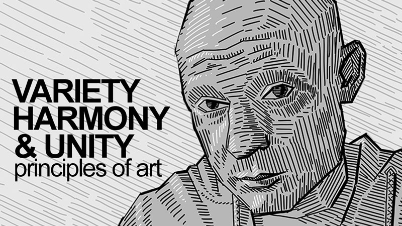 variety harmony and unity principles of art