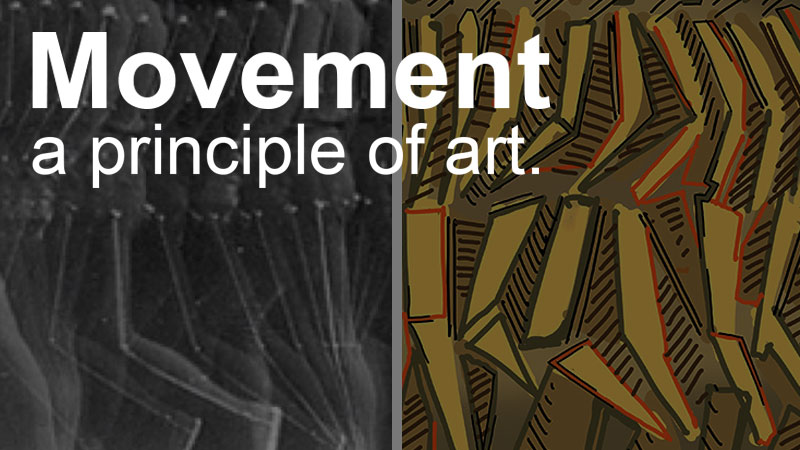 Movement and Rhythm - Principles of Art