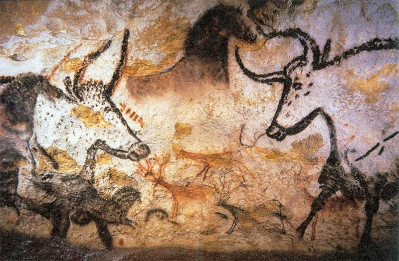 Cave Paintings - The First Form of Abstract Art