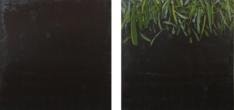 Painting exercise 3 - Painting Grass step 1 and 2