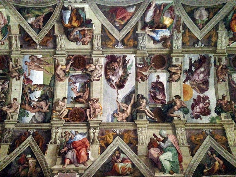 picture of sistine chapel