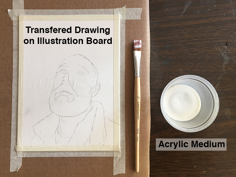 Sealed contour line drawing