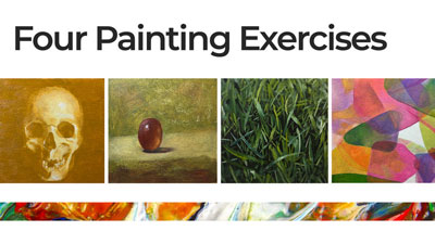 4 Painting Exercises
