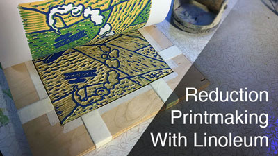 Reduction Block Printing