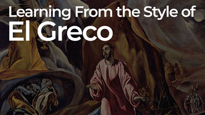 Learning From The Style of El Greco