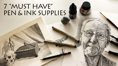 Pen and Ink Supplies